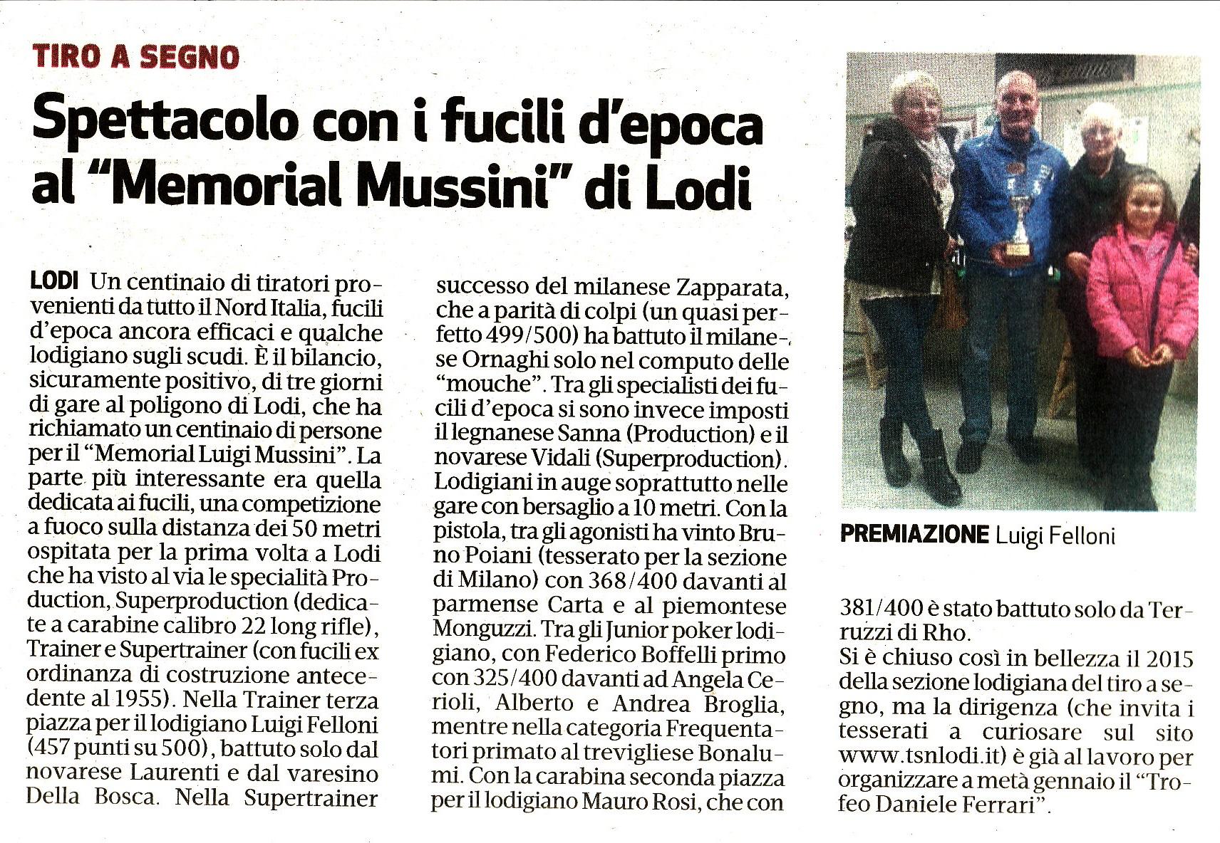 Trofeo Mussini